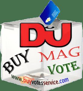 Buy Dj Mag votes
